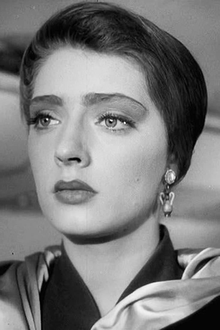 Людмила Абрамова в молодости