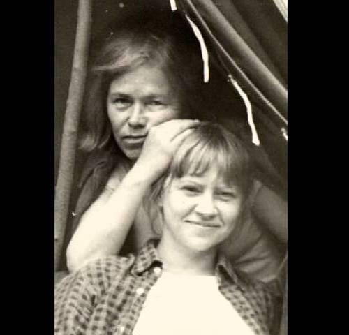 Ада Якушева с дочкой