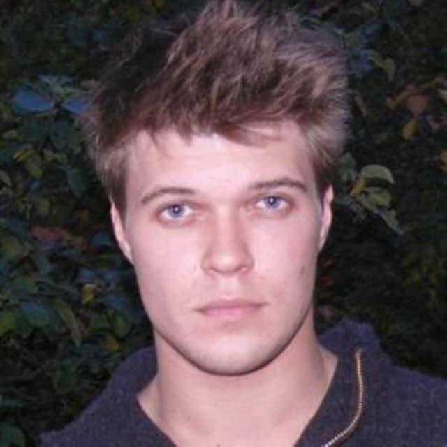 Антон Гуляев в юности