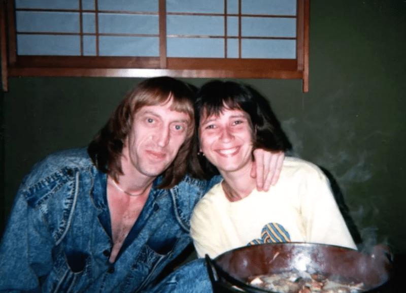 Виктор Авилов с женой Галиной Галкиной