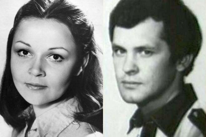 Ирина Акулова и Петр Смидович