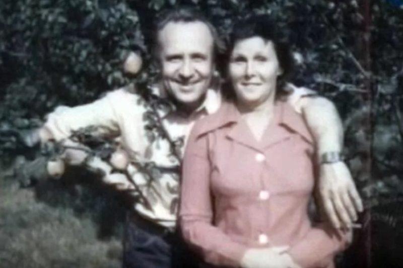 Леонид Дербенев с женой Верой