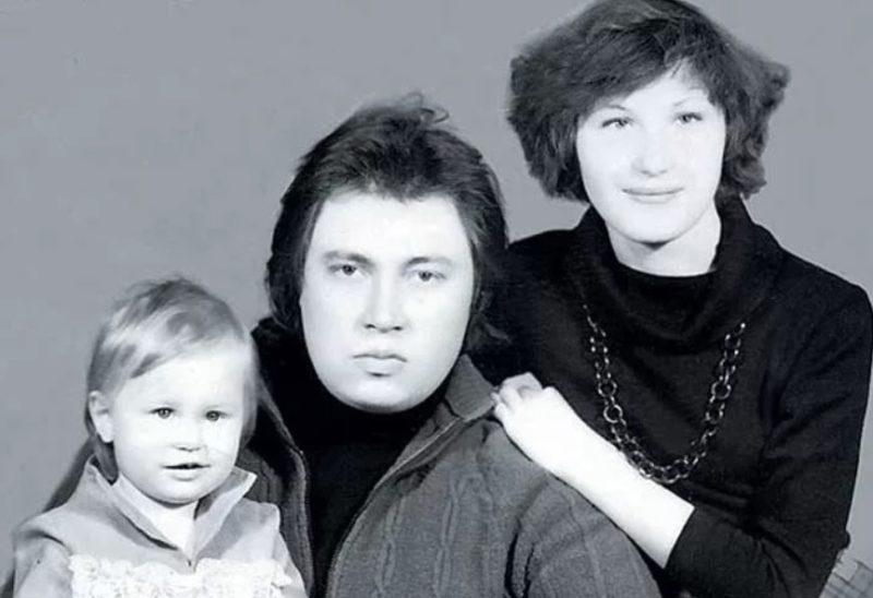 Сергей Степанченко с женой Ириной и сыном