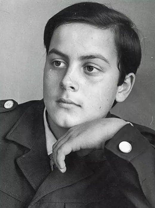 Вячеслав Гришечкин в молодости
