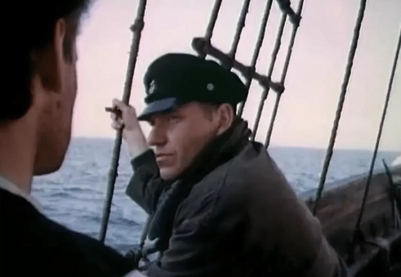 """Кадр из фильма """"Морской волк"""""""