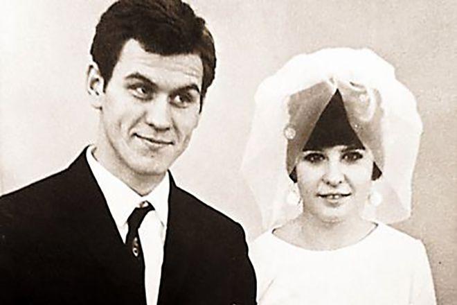 Валерий Афанасьев с женой