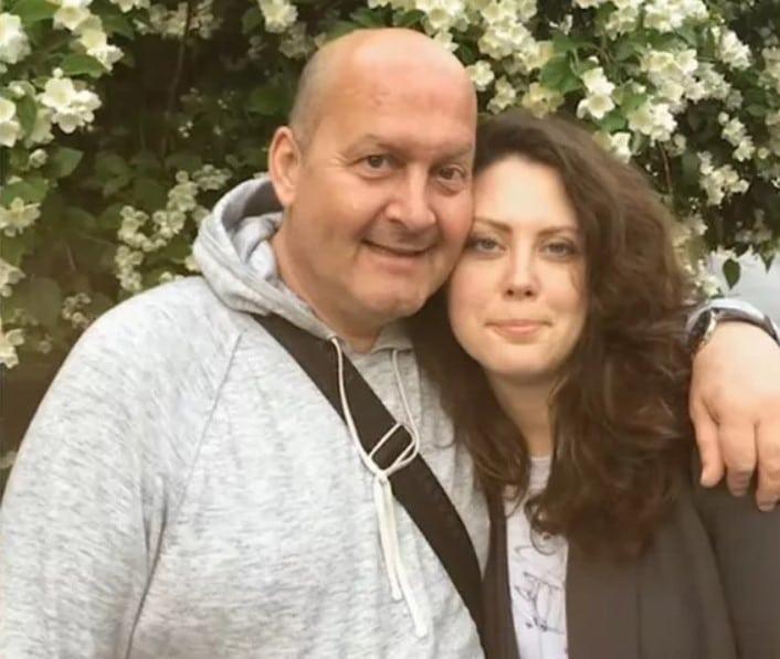 Вячеслав Гришечкин с дочерью