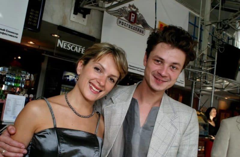 Илья Древнов с женой Марией Порошиной