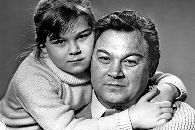 Юрий Саранцев с дочкой