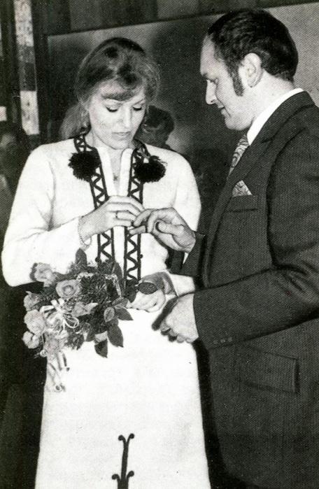 Свадьба Анны Герман и Збигнева Тухольского