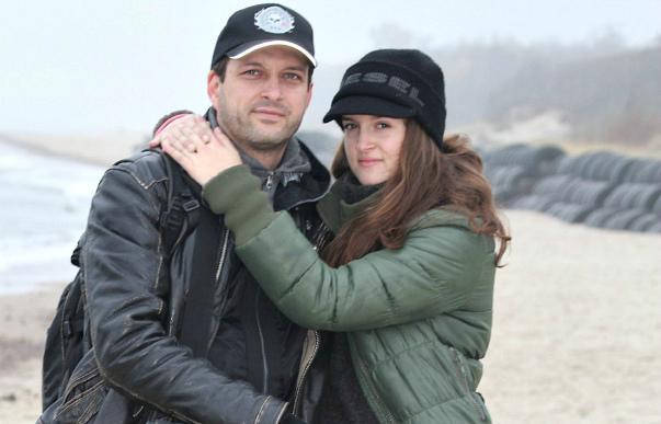 Евгений Воловенко с женой Дианой Розовлян