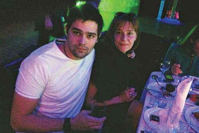 Елена Дробышева с сыном