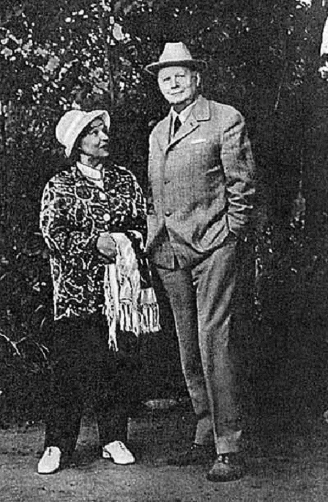 Вера Марецкая с Юрием Завадским