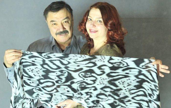 Рустам Сагдуллаев с женой Мариной Кузиной