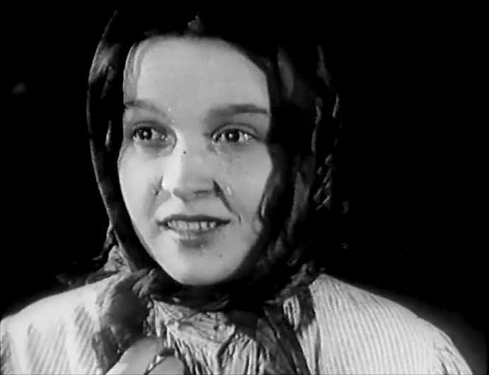Вера Марецкая в филььме «Закройщик из Торжка»