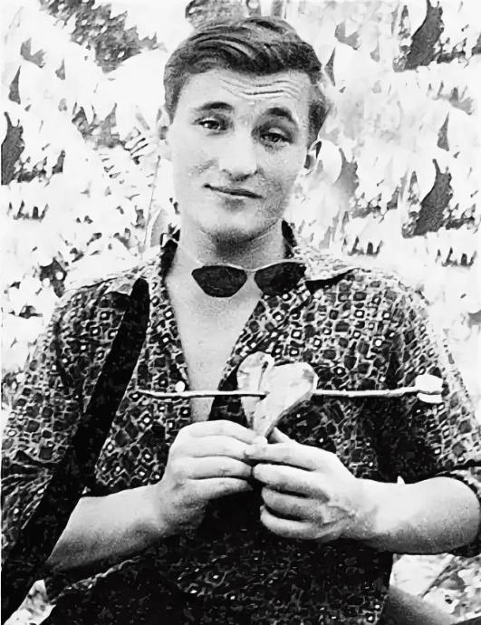 Николай Чиндяйкин в молодости