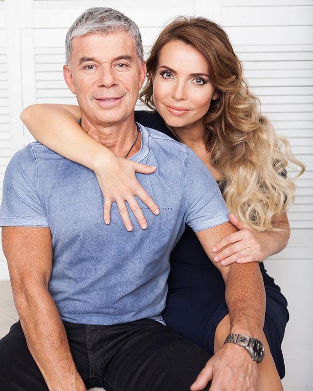 Олег Газманов с новой женой Мариной