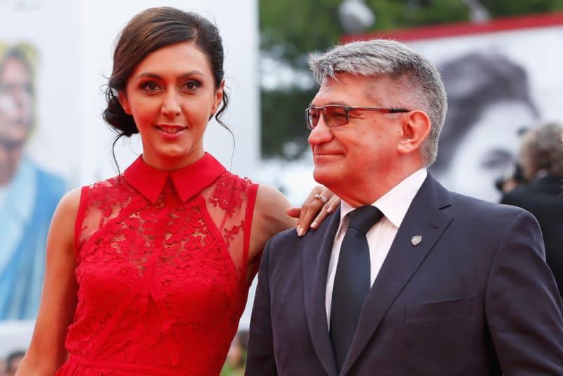 Александр Сокуров и Екатерина Мцитуридзе