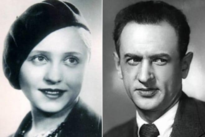 Янина Жеймо и ее муж Андрей Костричкин