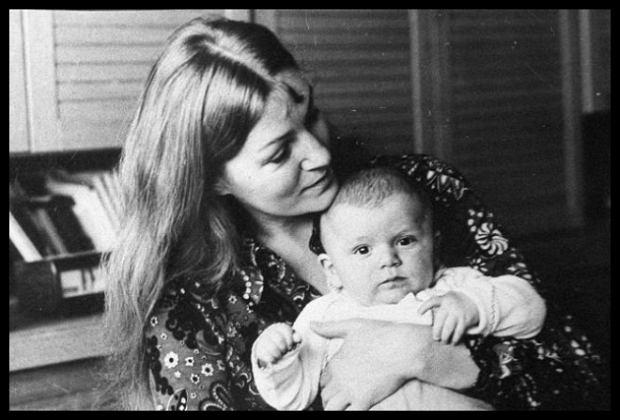 Анна Герман с маленьким сыном