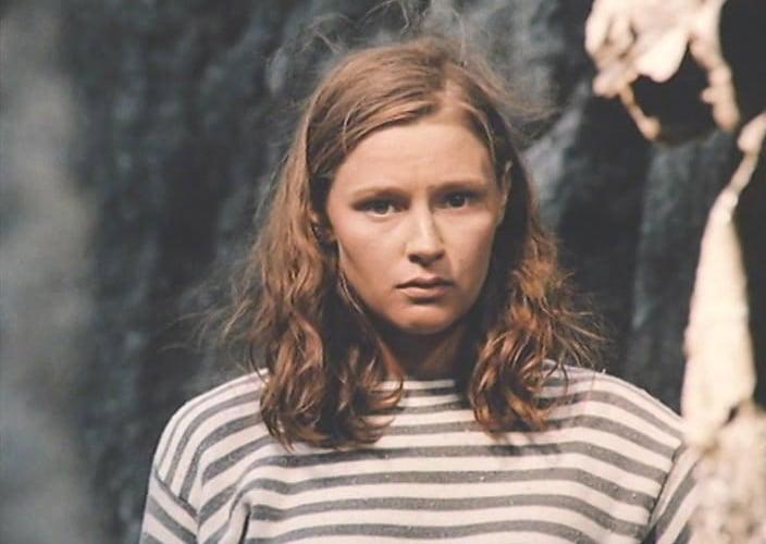 Елена Дробышева в юности