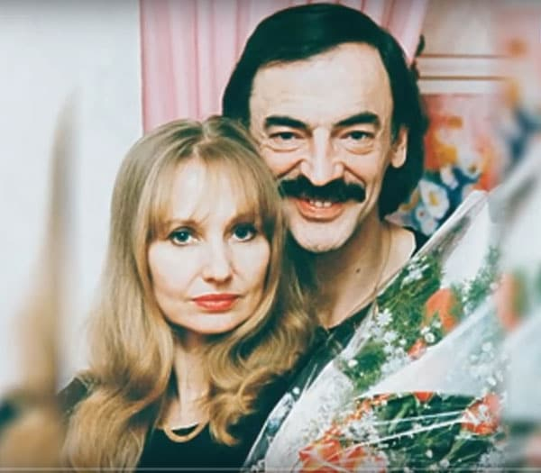 Лариса Луппиан с мужем Михаилом Боярским