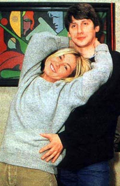 Ксения Стриж и ее второй муж Илья Котов