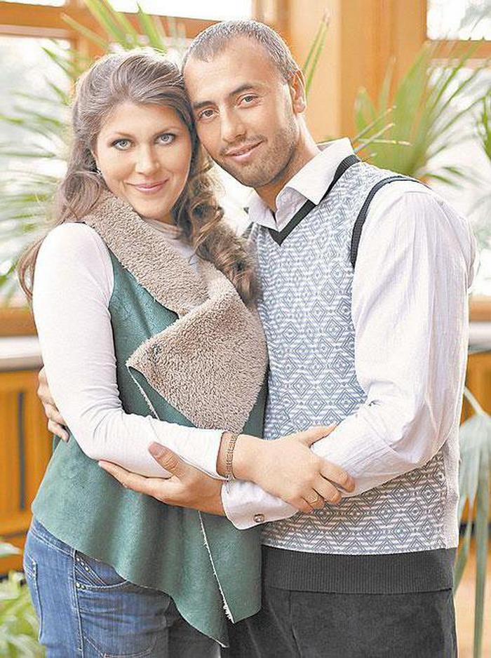 Екатерина Порубель с мужем Анатолием Левенцом