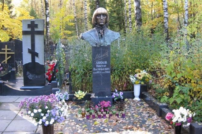 Могила Виктора Авилова