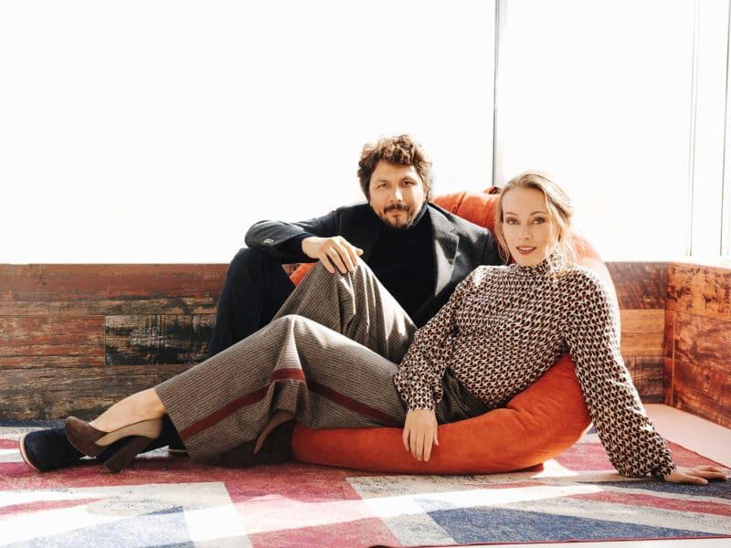 Павел Сафонов и Ольга Ломоносова