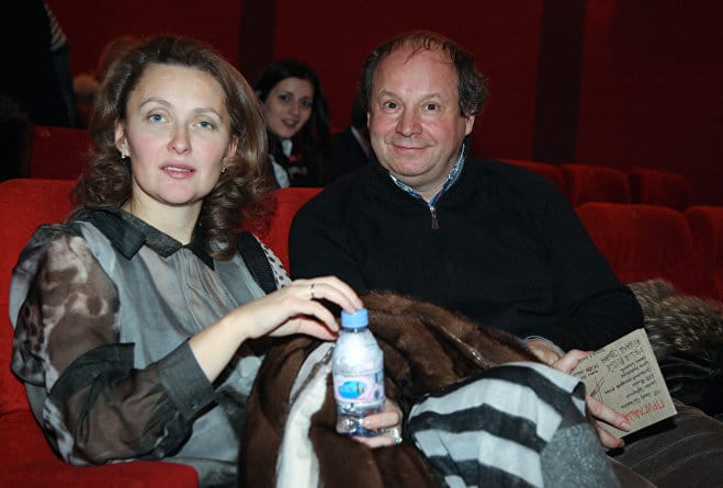Дмитрий Астрахан с женой Еленой