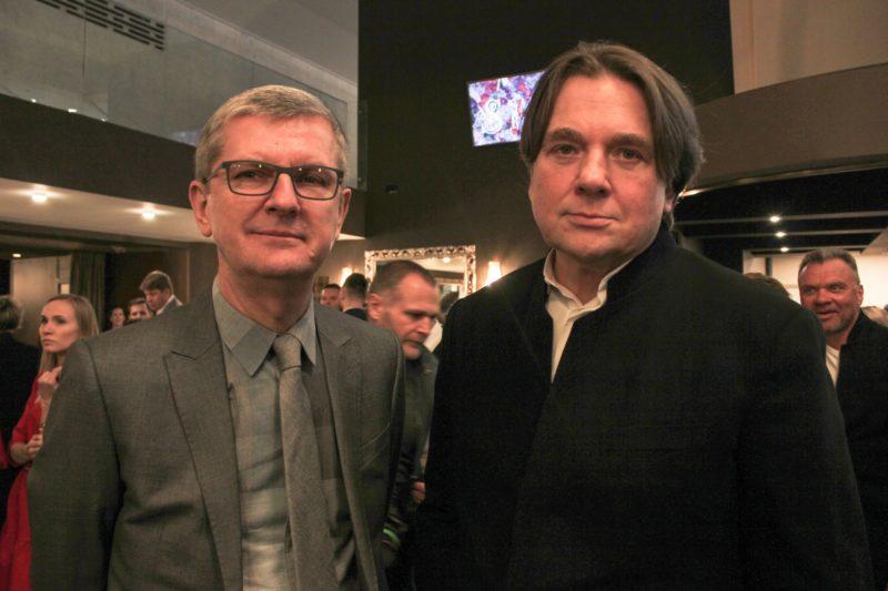 Юрий Аксюта с директором первого канала Константином Эрнстом