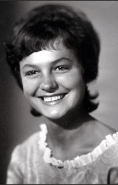 Татьяна Судец в молодости