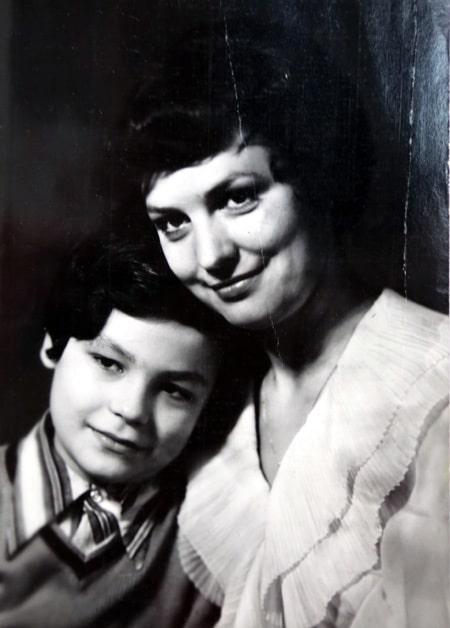 Татьяна Судец с сыном