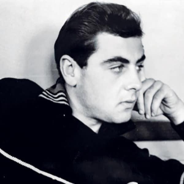 Владимир Долинский в молодости