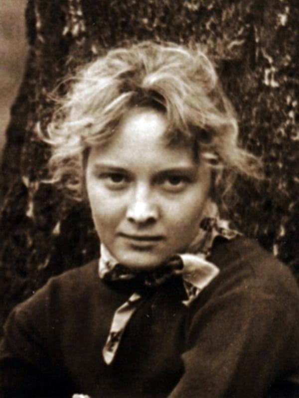 Ольга Антонова в молодости