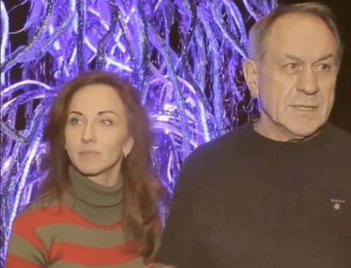 Валерий Афанасьев с третьей женой Натальей