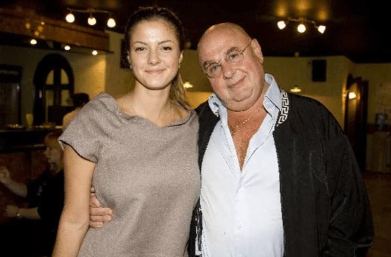 Владимир Долинский с дочерью Полиной