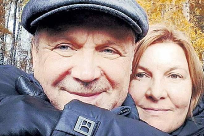 Василий Мищенко с женой Ольгой Вихорковой