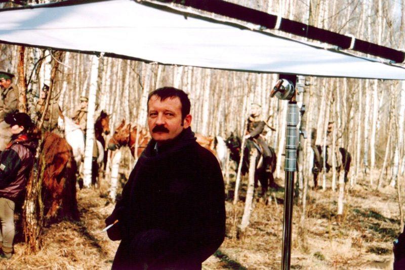 Леонид Громов на съемках фильма «Своя чужая жизнь»