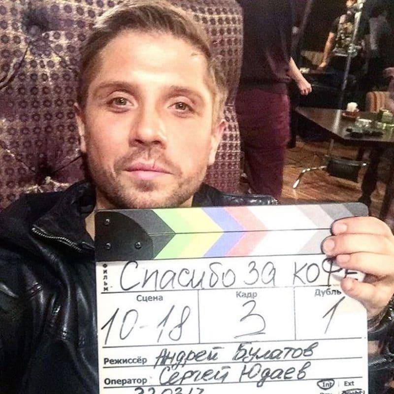 Роман Маякин на съемках в сериале «Психологини»