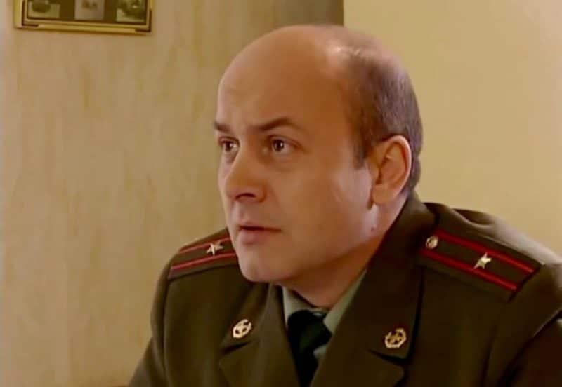 Вячеслав Гришечкин в сериале «Солдаты»