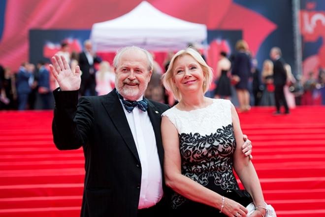 Владимир Хотиненко и его вторая жена Татьяна Яковлева