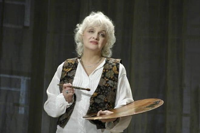 Ольга Антонова в театре