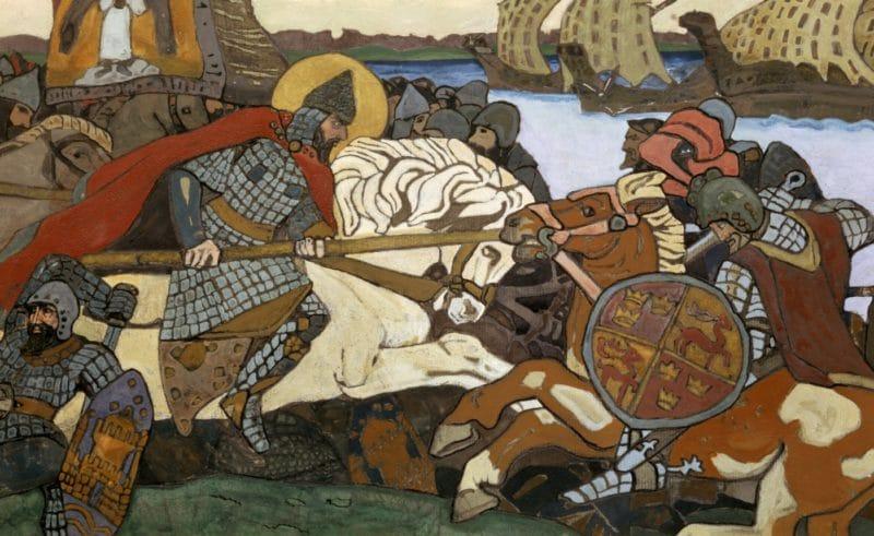 Александр Невский битва ярла Биргера