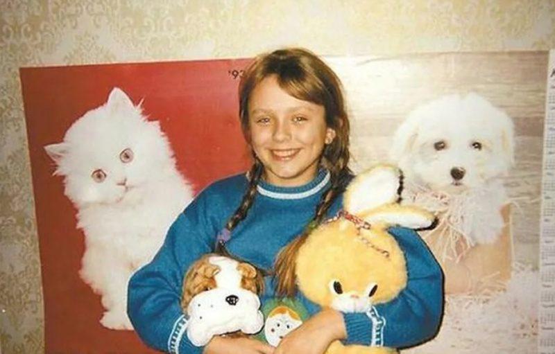 Юлия Началова в детстве