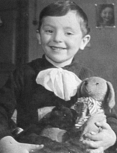 Иосиф Бродский в детстве