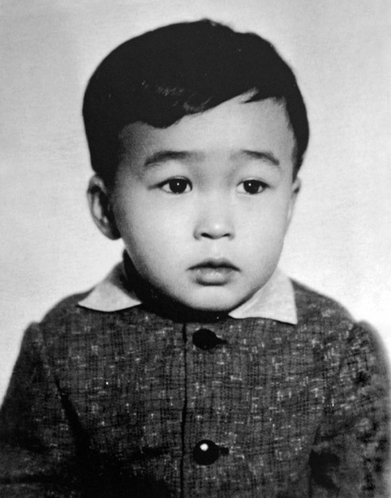 Виктор Цой в детстве