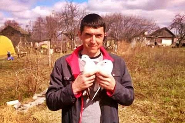 Аркадий Кобяков в молодости