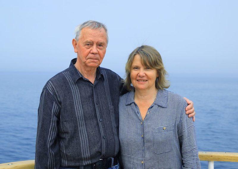 Валентин Распутин с женой Светланой